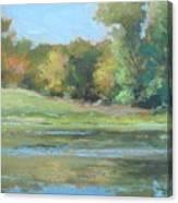 Fall Setting Canvas Print