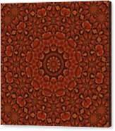 Fall Splendor Mandala Canvas Print
