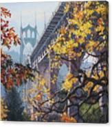 Fall St Johns Canvas Print