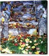 Fall Stairway Canvas Print