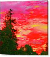 Fall Sunrise Canvas Print