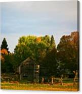 Fall Time On The Farm Canvas Print