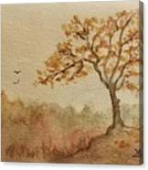 Fall Tree Canvas Print