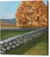 Fall Wall Canvas Print