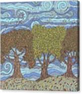 Fall Winds Canvas Print