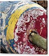 Fallen Buoy Canvas Print