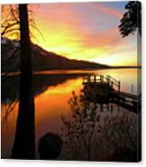 Fallen Leaf Lake Canvas Print