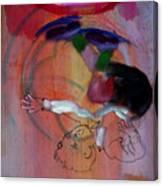 Falling Boy Canvas Print