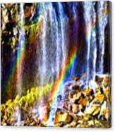 Falling Rainbows Canvas Print