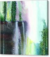 Falling Waters 1 Canvas Print