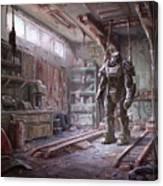 Fallout 4 Armour Canvas Print