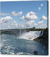 Falls- American Side  Canvas Print