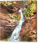 Falls At Hocking Hills Canvas Print