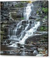 Falls Creek Gorge Trail Ithaca New York Canvas Print