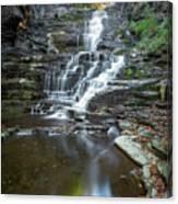 Falls Creek Gorge Trail Reflection Canvas Print