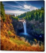 Falls From Up High Canvas Print