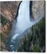 Yellowstone National Park Waterfalls Canvas Print