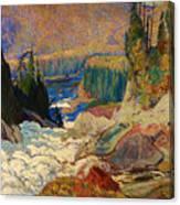 Falls - Montreal River Canvas Print