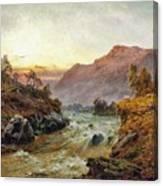 Falls Of Leney Canvas Print