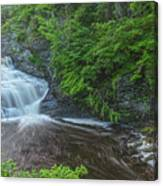Falls Of Mystery Canvas Print