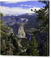 falls of Yosemite Canvas Print