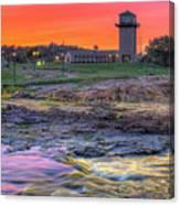 Falls Park Sunset Canvas Print