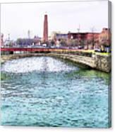 Fallswalk And Shot Tower Canvas Print