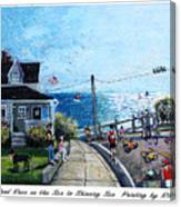 Falmouth Road Race 2015 Canvas Print