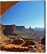 False Kiva Moab Utah Canvas Print