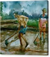 Famer Canvas Print