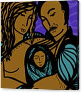 Family Is A Sanctuary Canvas Print