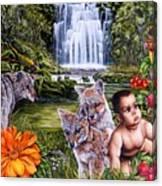 Family Picnic Canvas Print