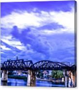 Famous Bridge Canvas Print