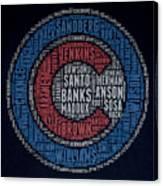 Famous Chicago Cubs Canvas Print