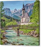 Idyllic Place To Be Canvas Print
