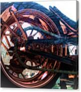 Famous Liberty Bike Copper Ny Canvas Print