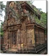 Famous Temple Banteay Srei Cambodia Asia  Canvas Print