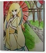 Fan Girl Canvas Print
