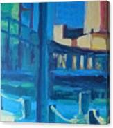 Fan Pier, Boston Canvas Print