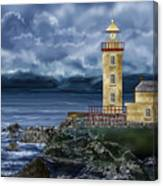 Fanad Head Lighthouse Ireland Canvas Print