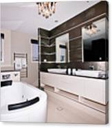 Fancy Bathroom Ensuite Canvas Print