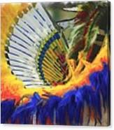 Fancy Dancer ... Montana Art Photo Canvas Print
