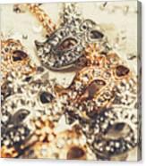 Fancy Dress Timepieces Canvas Print