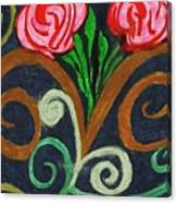 Fancy Flowers Canvas Print
