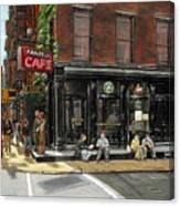 Fanelli Cafe Canvas Print