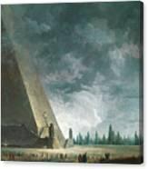 Fantaisie Egyptienne Canvas Print