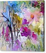 Fantaquarelle 02 Canvas Print