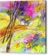 Fantaquarelle 04 Canvas Print