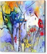 Fantaquarelle 05 Canvas Print