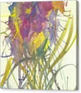 Fantasia De Flor Canvas Print